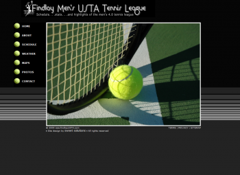 Findlay Men's USTA Tennis League